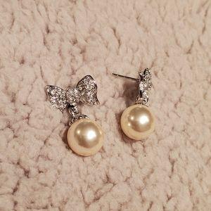 David's Bridal Earrings